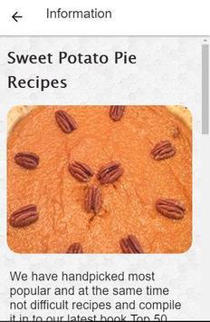 Recipes Sweet Potato Pie screenshot 4