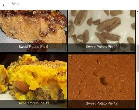 Recipes Sweet Potato Pie screenshot 5
