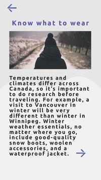 Visit Canada apk screenshot