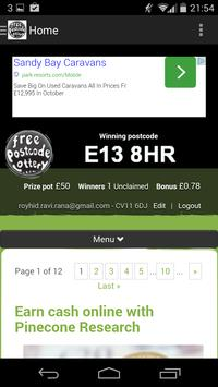 Free Postcode Lottery for Android - APK Download
