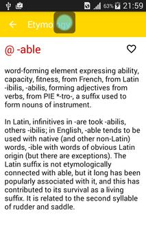 etymology dictionary apk download free education app for android