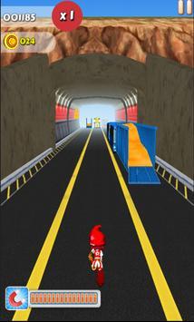 Mario Subway Surfers poster