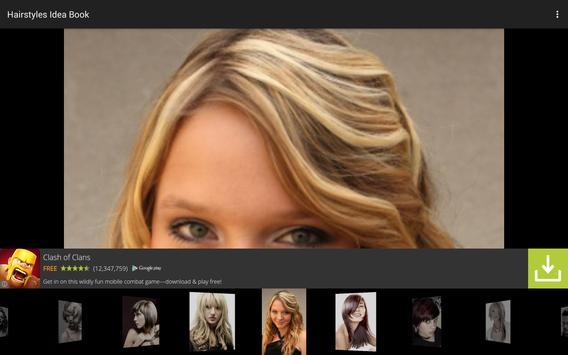 Hairstyles Idea Book apk screenshot