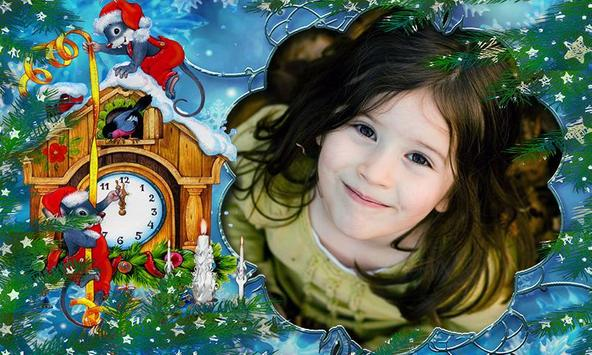 christmas photo frame screenshot 3