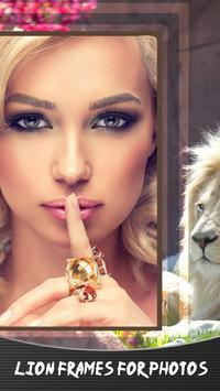 Lion Frames For Photos poster
