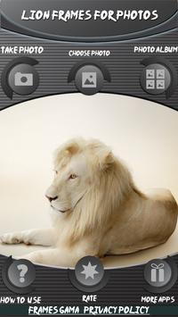 Lion Frames For Photos screenshot 2