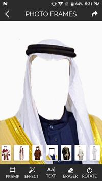 Arabic Suit Photo Frame apk screenshot