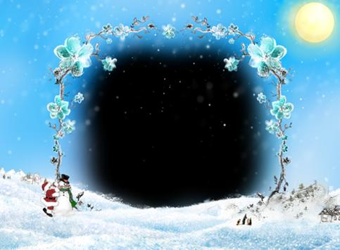 Christmas and New Year Frames poster