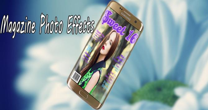 Magazine photo Effects poster