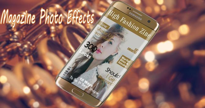 Magazine photo Effects apk screenshot