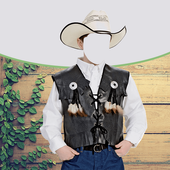 Photo Montage for Kids Cowboy icon