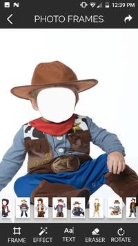 Photo Montage for Kids Cowboy screenshot 4