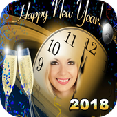 happy new year 2018 wallpaper icon
