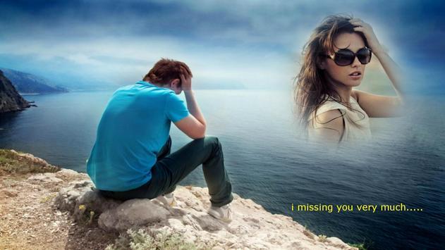 miss you frames apk screenshot - Miss You Picture Frames