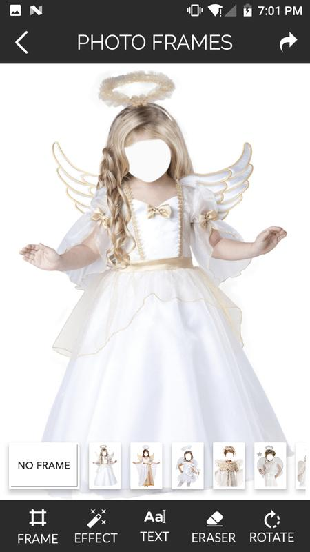Sweet Angel Kids Photo Frames for Android - APK Download
