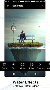 3D Water Effects - Photo Editor screenshot 4