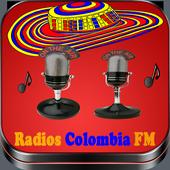 Radios Colombia FM icon