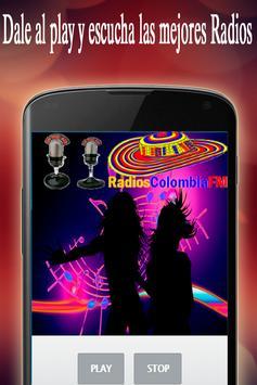Radios Colombia FM screenshot 10