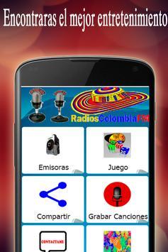 Radios Colombia FM screenshot 1