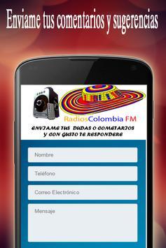 Radios Colombia FM screenshot 3