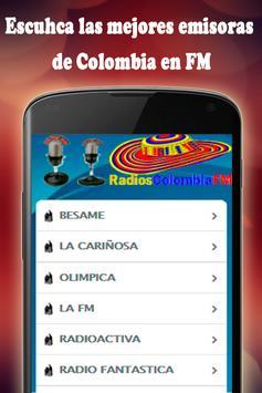 Radios Colombia FM screenshot 4