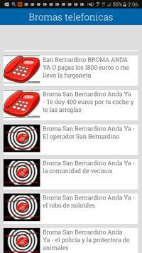 Bromas telefono screenshot 3