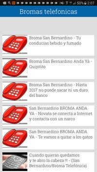 Bromas telefono screenshot 4