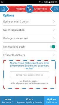 Français Authentique apk screenshot