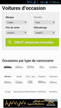 Voiture d Occasion France screenshot 2