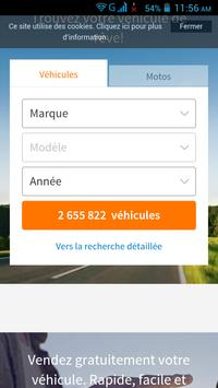 Voiture d Occasion France apk screenshot