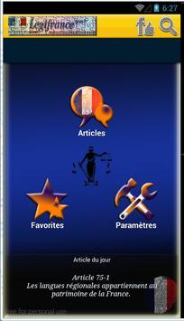 Constitution française apk screenshot