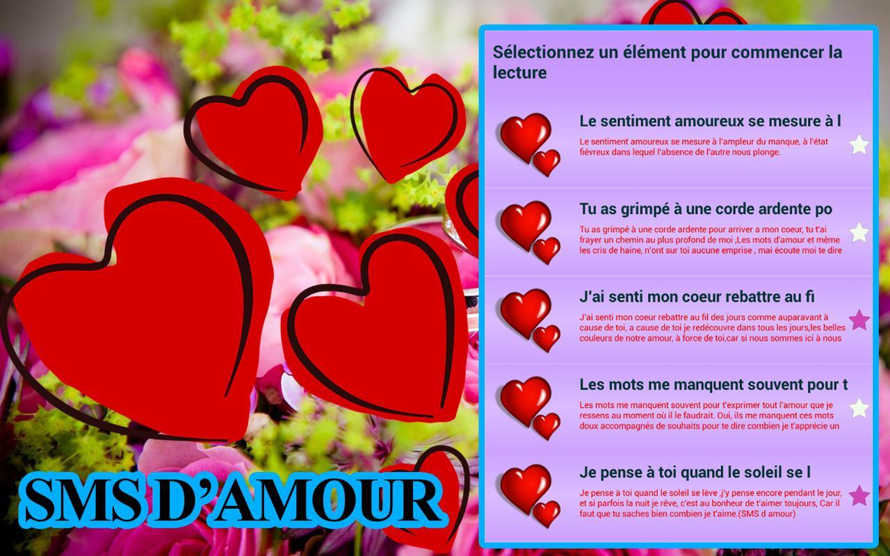 1000 Sms Message Damour Für Android Apk Herunterladen