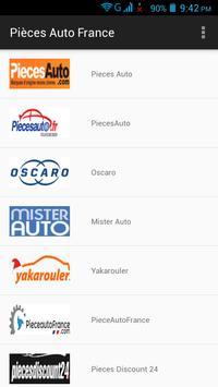 Pièces Auto France screenshot 5