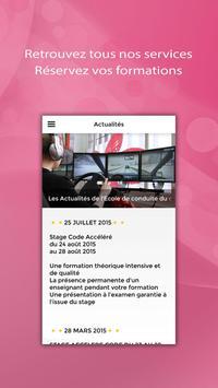 ECOLE DE CONDUITE DU CENTRE apk screenshot