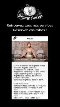Princesse d'un soir apk screenshot