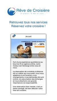 Rêve de croisière apk screenshot