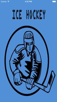 Ice Hockey -android app poster