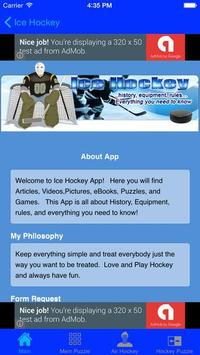 Ice Hockey -android app apk screenshot