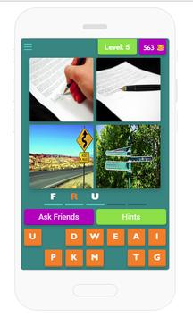 4 pics 1 word 4 letters game for android apk download 4 pics 1 word 4 letters game poster expocarfo Choice Image