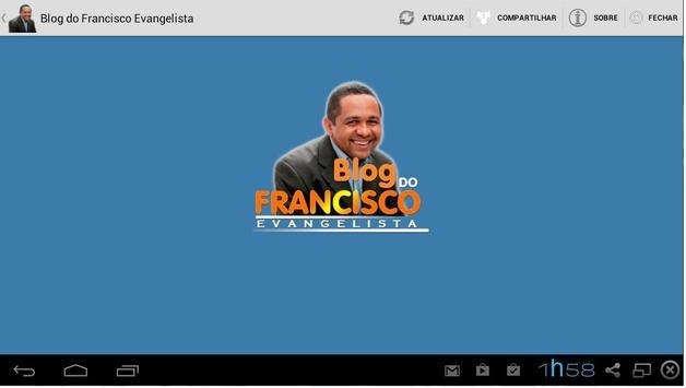 Blog do Francisco Evangelista apk screenshot
