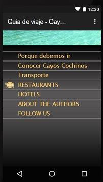 Guia de Viajes-Cayos Cochinos poster