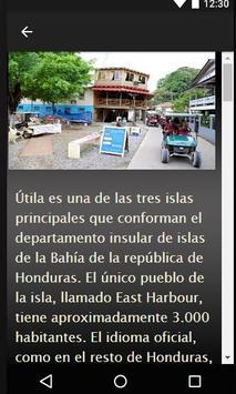 Guia de Viajes-Utila,Honduras apk screenshot
