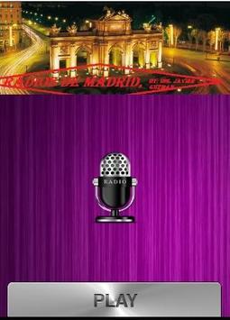 Radios de Madrid poster