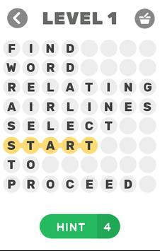 Word Search Puzzle poster