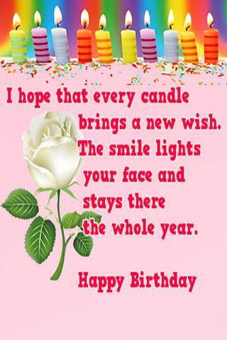 Free Happy Birthday Wishes Plakat