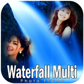Waterfall Multi Photo Frames icon
