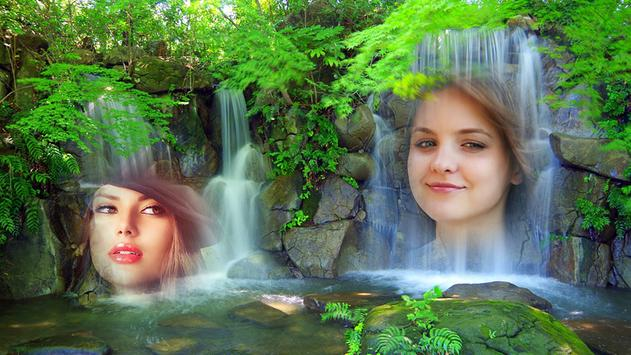 Waterfall Multi Photo Frames screenshot 2