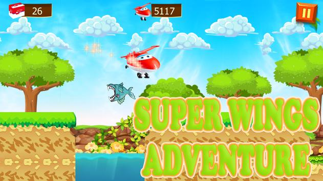 Super jump Wings adventure Game apk screenshot