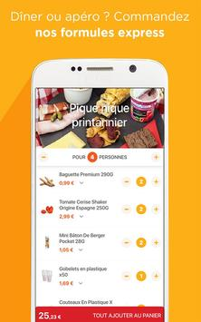 Franprix - Livraison de courses, promos & fidélité apk screenshot