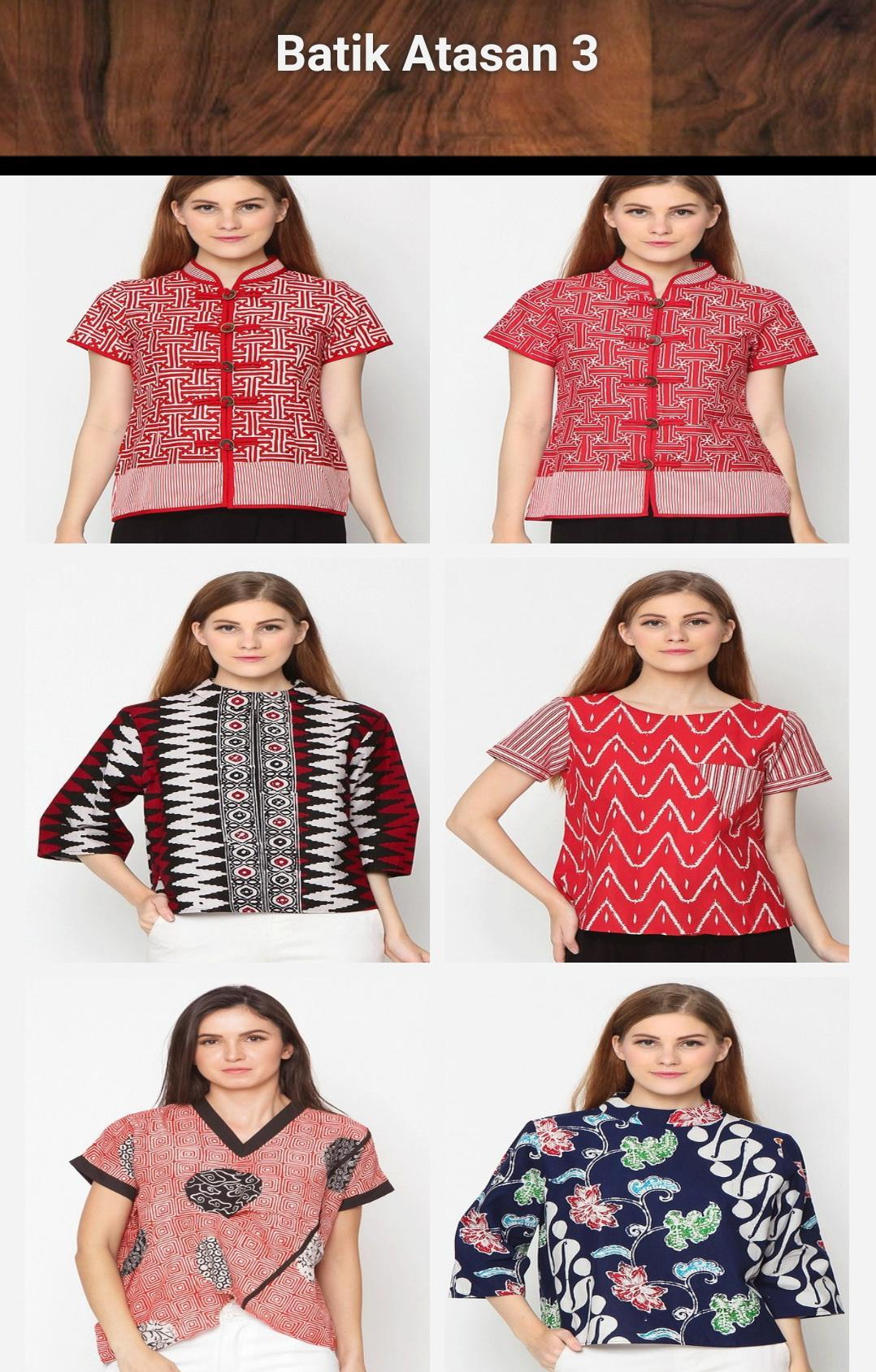 Model Batik Wanita Modern For Android Apk Download